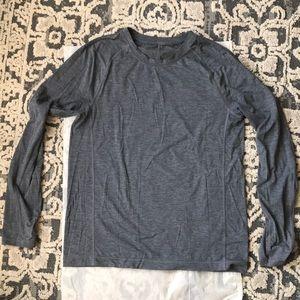 Lululemon men's long sleeve tee shirt size L